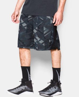 Men's UA TriAngle O Printed Shorts LIMITED TIME: FREE SHIPPING 1 Color $33.99