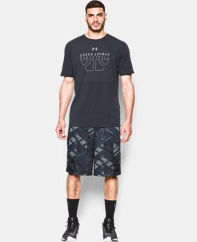Men's UA TriAngle O Printed Shorts  1 Color $44.99