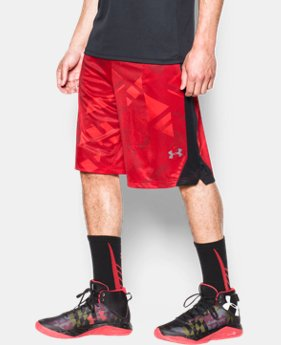 Men's UA TriAngle O Printed Shorts LIMITED TIME: FREE U.S. SHIPPING  $22.49 to $29.99