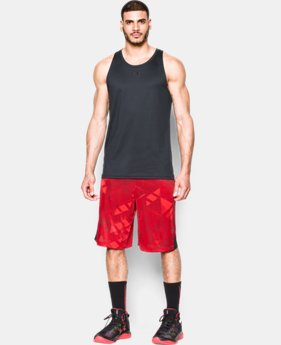 Men's UA TriAngle O Printed Shorts LIMITED TIME: FREE SHIPPING 1 Color $39.99