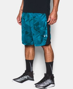 Men's UA TriAngle O Printed Shorts  1 Color $29.99