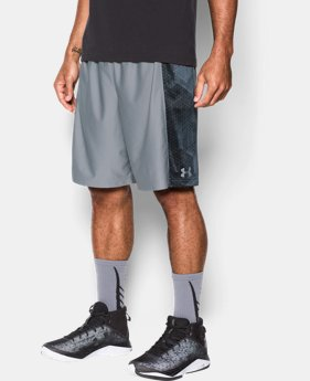 New Arrival Men's UA Select Pocket Pass Shorts  1 Color $44.99