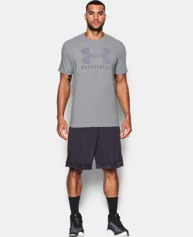 Men's UA Basketball T-Shirt  1 Color $14.24