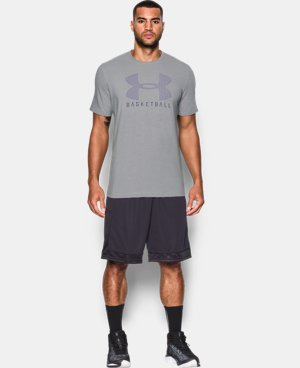 Men's UA Basketball T-Shirt LIMITED TIME: FREE SHIPPING 1 Color $22.99