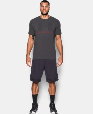 Men's UA Basketball T-Shirt LIMITED TIME: FREE U.S. SHIPPING 2 Colors $14.24