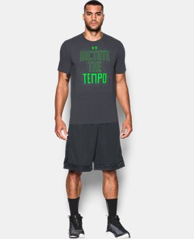 Men's UA Dictate The Tempo T-Shirt  1 Color $14.24 to $18.99