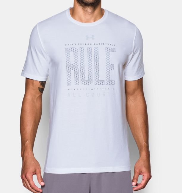 f87233aa719c Men s UA Rule All Courts T-Shirt