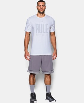 Men's UA Rule All Courts T-Shirt LIMITED TIME: FREE U.S. SHIPPING 1 Color $18.99