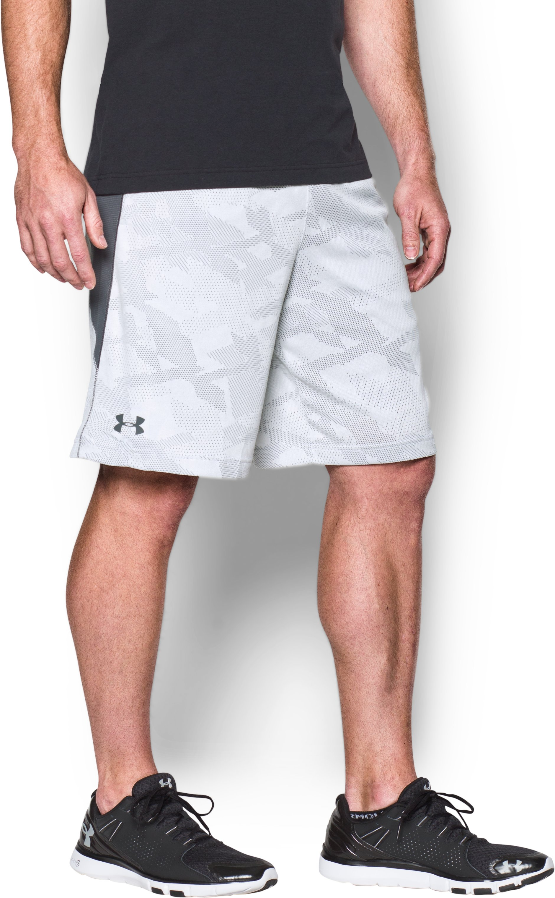 "Men's UA Raid Graphic 10"" Shorts, White"