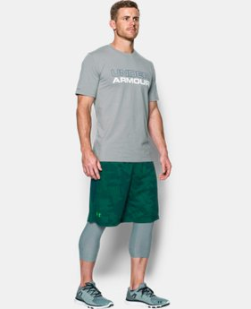 "Best Seller Men's UA Raid Graphic 10"" Shorts LIMITED TIME: FREE SHIPPING 1 Color $34.99"