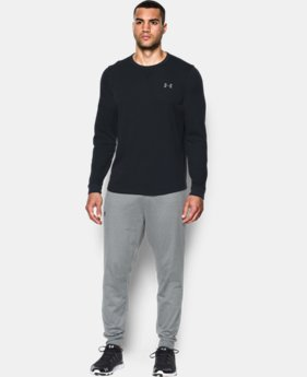 Men's UA Waffle Crew LIMITED TIME OFFER 1 Color $33.74