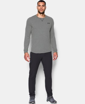 Best Seller  Men's UA Waffle Crew  1  Color Available $49.99