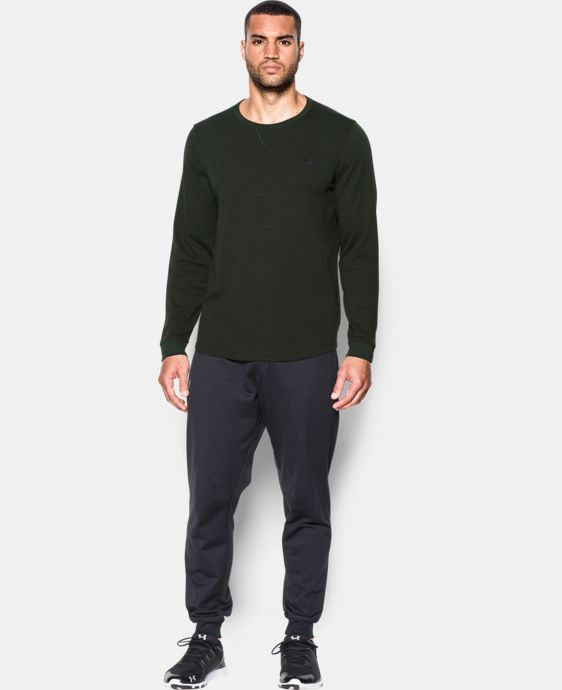 Men's UA Waffle Crew LIMITED TIME: 15% OFF 1 Color $49.99