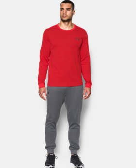 Men's UA Waffle Crew LIMITED TIME OFFER + FREE U.S. SHIPPING 1 Color $29.99