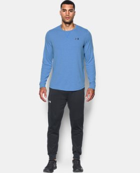 Best Seller Men's UA Waffle Crew  4 Colors $44.99