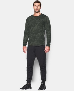 Men's UA Waffle Printed Crew  1 Color $42.49 to $49.99