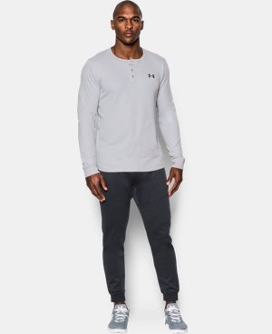 Men's UA Waffle Henley  2 Colors $50.99 to $59.99