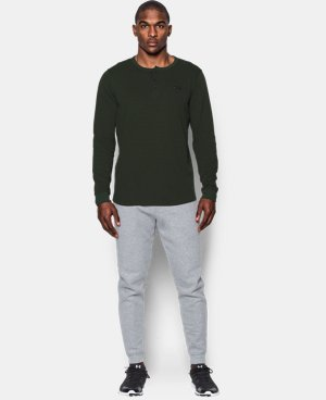 Men's UA Waffle Henley  1 Color $50.99 to $59.99