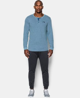 Men's UA Waffle Henley  1 Color $27.99 to $37.99