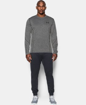New Arrival Men's UA ColdGear® Infrared Grid Long Sleeve T-Shirt   1 Color $64.99