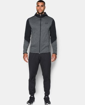 New Arrival  Men's UA ColdGear® Infrared Grid Hoodie  2 Colors $89.99