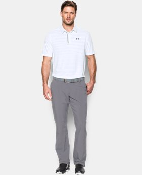 Men's UA CoolSwitch Jacquard Polo *Ships 8/12/16*