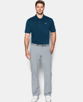 Men's UA CoolSwitch Jacquard Polo LIMITED TIME: FREE SHIPPING 1 Color $94.99