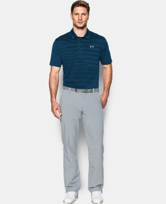 Men's UA CoolSwitch Jacquard Polo LIMITED TIME: FREE U.S. SHIPPING  $63.99 to $84.99
