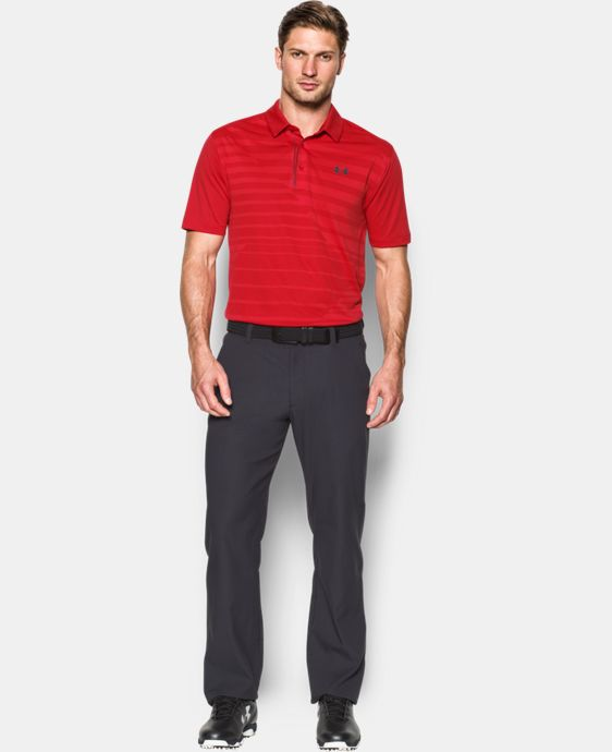 Best Seller Men's UA CoolSwitch Jacquard Polo LIMITED TIME: FREE U.S. SHIPPING 1 Color $84.99