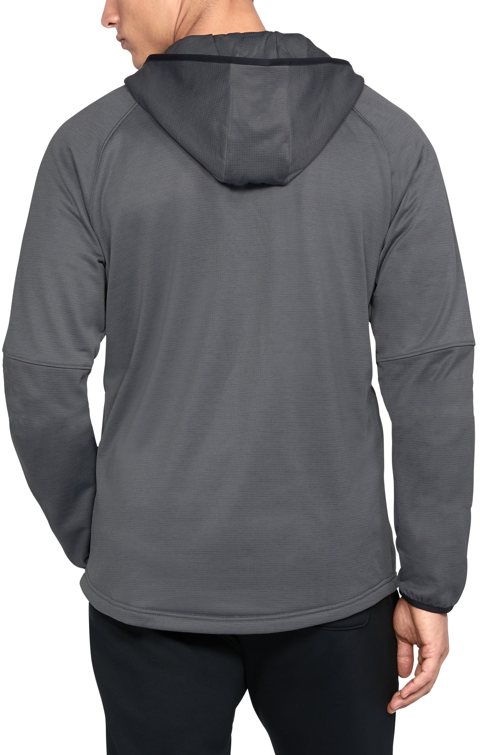 Men's UA Scope Fleece Hoodie, Graphite,