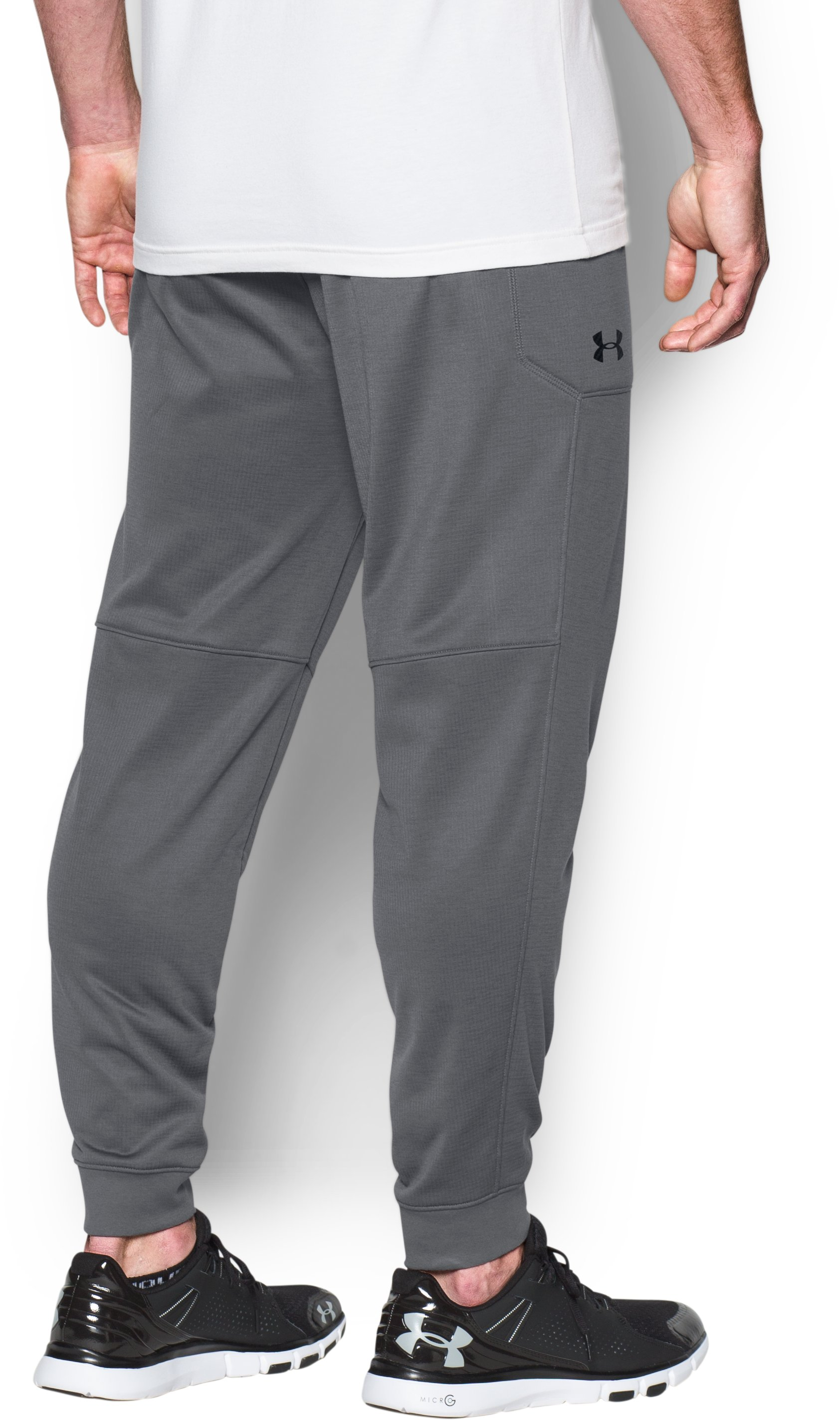 Men's UA Scope Fleece Joggers, Graphite