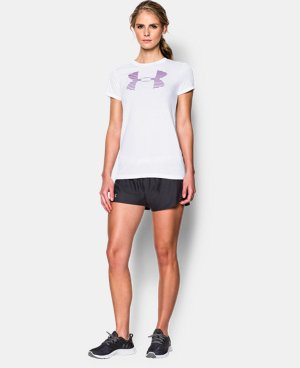 New to Outlet Women's UA Favorite Big Logo T-Shirt LIMITED TIME: FREE U.S. SHIPPING 1 Color $14.24