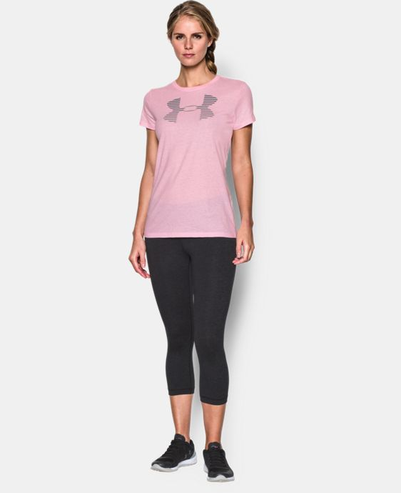 Women's UA Favorite Big Logo T-Shirt  1 Color $24.99