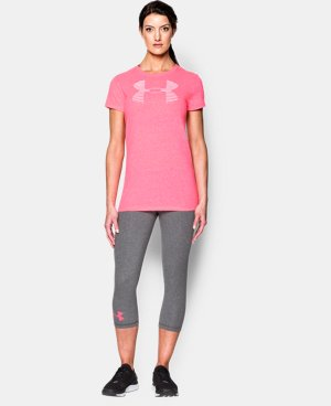 New to Outlet Women's UA Favorite Big Logo T-Shirt LIMITED TIME: FREE U.S. SHIPPING 1 Color $14.24 to $18.99