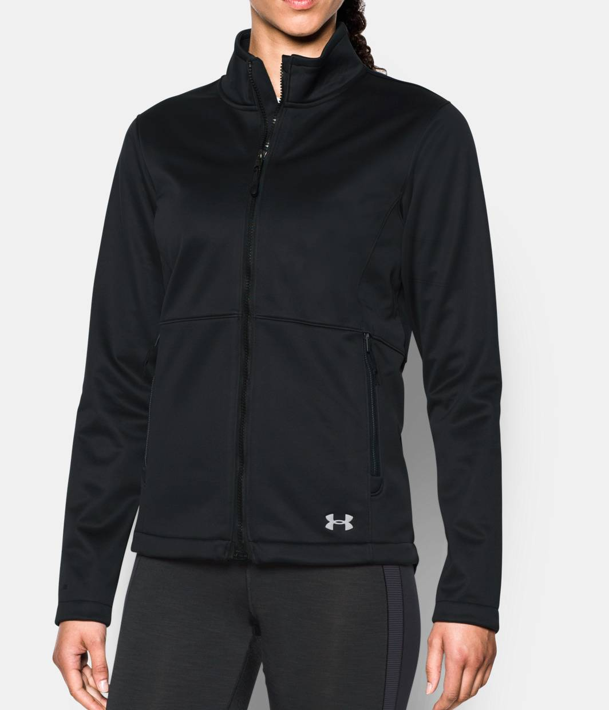 women 39 s ua coldgear infrared softershell jacket under armour us. Black Bedroom Furniture Sets. Home Design Ideas