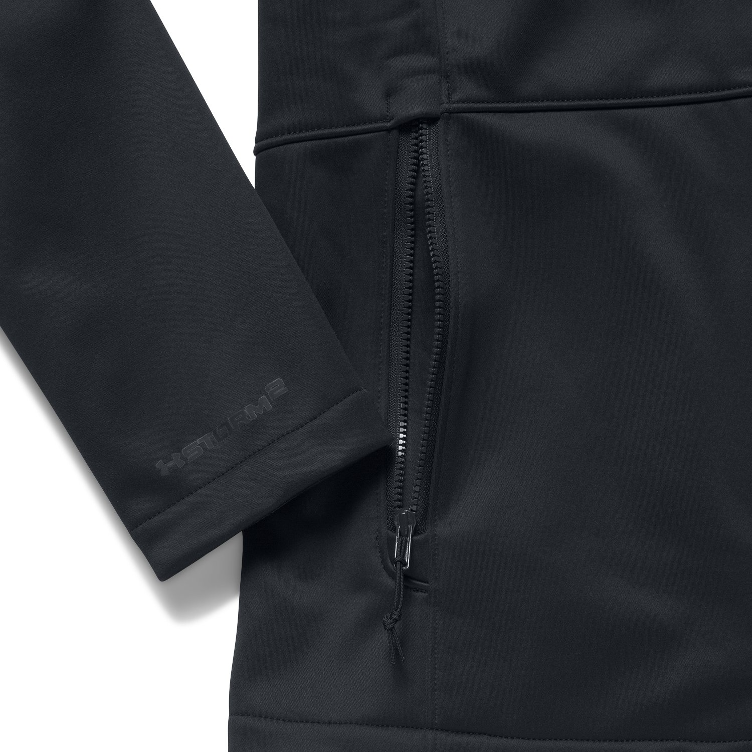 Women's UA ColdGear® Infrared Softershell Jacket, Black ,