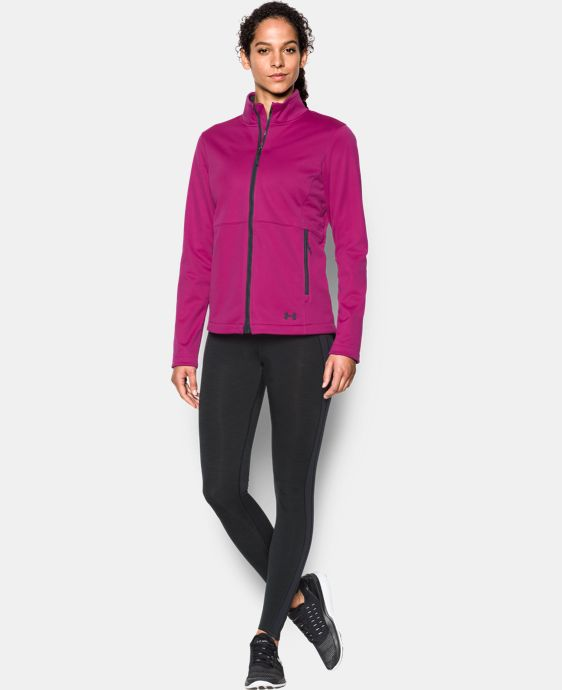Women's UA ColdGear® Infrared Softershell Jacket LIMITED TIME OFFER + FREE U.S. SHIPPING 2 Colors $112.49