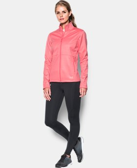 Women's UA ColdGear® Infrared Softershell Jacket  1 Color $127.49