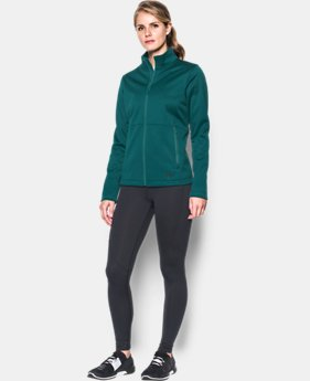 Women's UA ColdGear® Infrared Softershell Jacket  1 Color $112.49