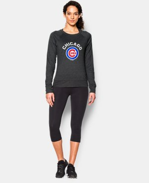 New Arrival Women's Chicago Cubs UA Varsity Crew  1 Color $54.99