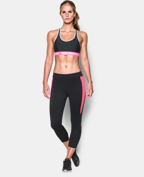 Women's UA Power In Pink® Armour Mid Sports Bra   $22.99