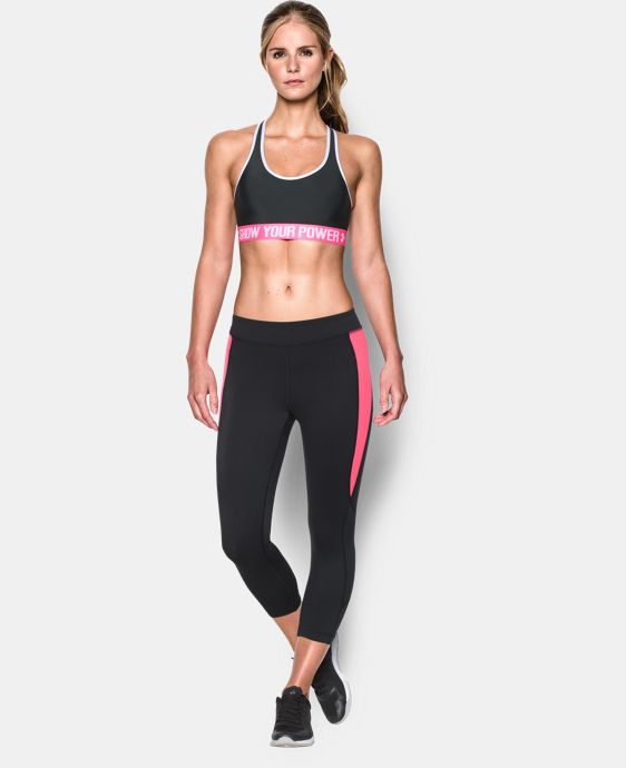 Women's UA Power In Pink® Armour Mid Sports Bra  1 Color $22.99