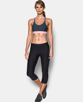 Women's UA Power In Pink® Armour Mid Sports Bra  1  Color Available $20.99
