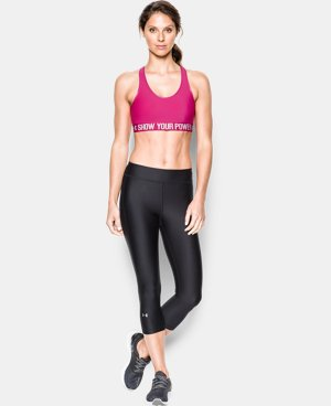 Women's UA Power In Pink®  Armour® Mid  LIMITED TIME: FREE U.S. SHIPPING 1 Color $14.24