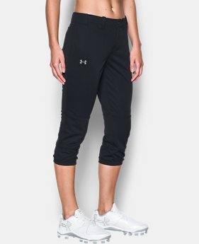 Women's UA Strike Zone Pants  3  Colors Available $29.99