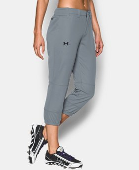 Women's UA Strike Zone Pants  4 Colors $17.99 to $19.99