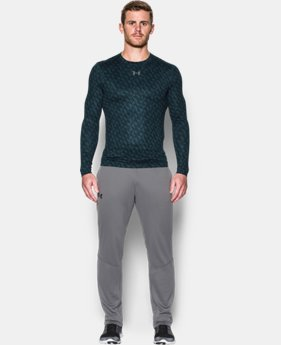Men's UA ColdGear® Armour Printed Compression Crew  2 Colors $26.99