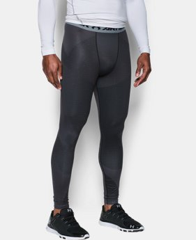 Men's ColdGear® Armour Sublimated Leggings LIMITED TIME: UP TO 30% OFF 3 Colors $52.49