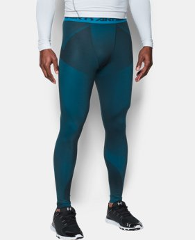 Men's ColdGear® Armour Sublimated Leggings LIMITED TIME OFFER + FREE U.S. SHIPPING 1 Color $59.99