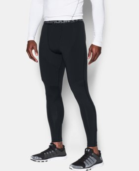 Men's UA ColdGear® Armour Insulated Compression Leggings  1 Color $62.99